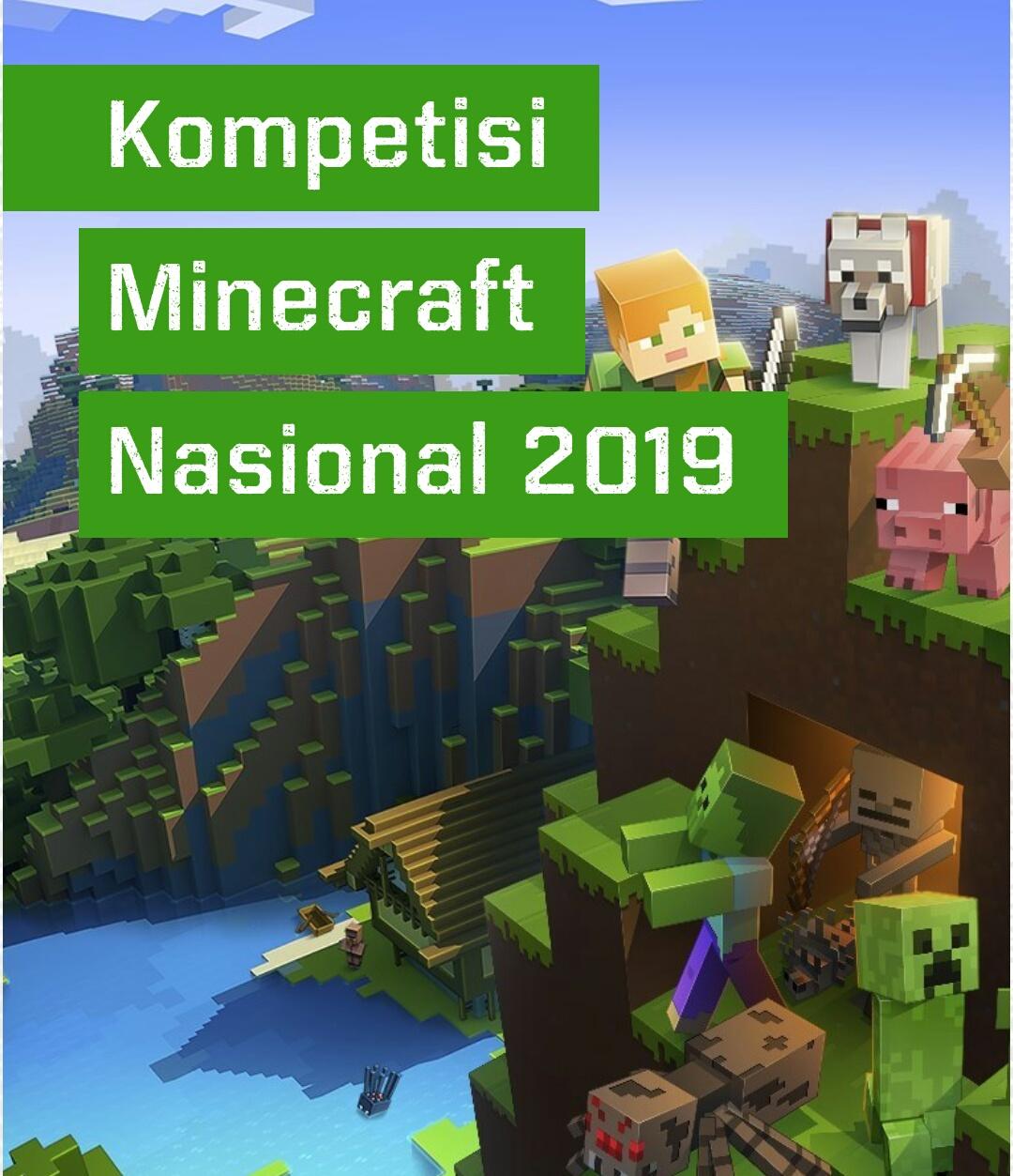 Kompetisi Minecraft Nasional 2019
